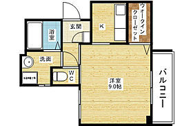 メゾンド・ラパン[2階]の間取り