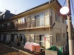東京都世田谷区下馬5丁目の賃貸アパートの外観
