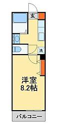 雨田ロイヤルパレスビル[309号室]の間取り