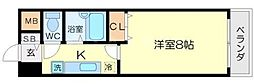 プロシード江坂マンション[2階]の間取り