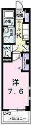 東京都北区赤羽台4丁目の賃貸マンションの間取り