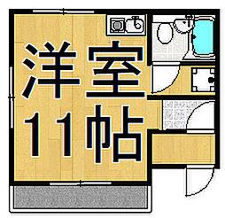前橋第二ビル[3階]の間取り