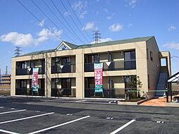 群馬県高崎市新保町の賃貸アパートの外観