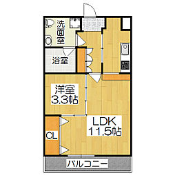 サイト祇園八坂[1階]の間取り