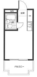 コア神明[2階]の間取り
