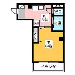 Opus Three[2階]の間取り