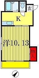 タムラビル[5階]の間取り