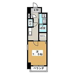 プライマリーステージ[8階]の間取り