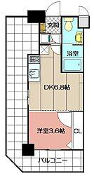 No.71オリエントトラストタワー[6階]の間取り