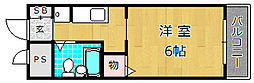 カーサカトレア[3階]の間取り
