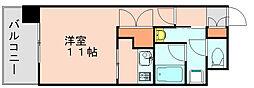 アソシアグロッツォ博多 [6階]の間取り