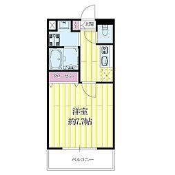 JR東海道・山陽本線 吹田駅 徒歩4分の賃貸マンション 9階1Kの間取り