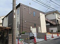 神奈川県川崎市麻生区百合丘2丁目の賃貸アパートの外観
