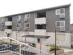 コスモパーク A棟[201号室]の外観