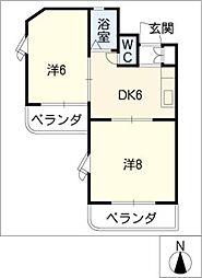 SANO7[2階]の間取り