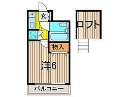 AQUA COAST 26[1階]の間取り