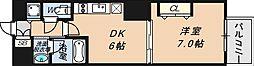 エスライズ西本町II[5階]の間取り