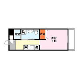 GLANZ HAUS 〜グランツハウス〜[3階]の間取り