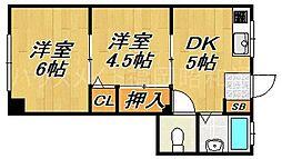 水田ビル[3階]の間取り