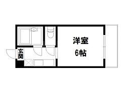 Choei63マ・シャンブルかもがわ[2階]の間取り