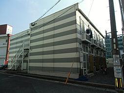 福岡県北九州市小倉南区徳力3丁目の賃貸アパートの外観