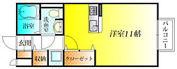 ドリーム葉月六番館[2階]の間取り