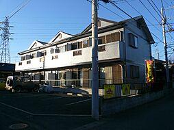神奈川県平塚市寺田縄の賃貸アパートの外観