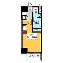 glanz[6階]の間取り