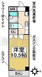 愛知県名古屋市千種区法王町1丁目の賃貸マンションの間取り