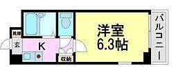KM立花[4階]の間取り