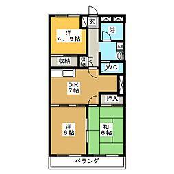 グレイスハイツ子平町[2階]の間取り