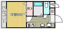 Mina Koti[2階]の間取り