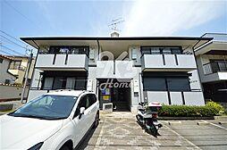 兵庫県神戸市須磨区潮見台町3丁目の賃貸アパートの外観