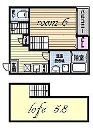 パレドール伝馬町[1階]の間取り