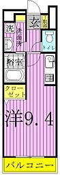 サニーメゾン1[2階]の間取り