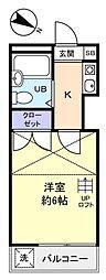 エクセレントF−II[2階]の間取り