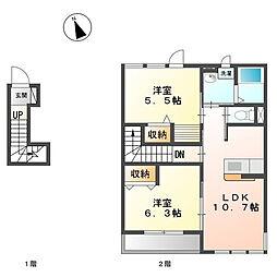 戸塚区原宿4丁目 LIEN202号室[202号室]の間取り