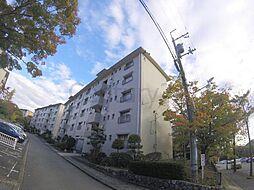 大阪府箕面市如意谷3丁目の賃貸マンションの外観