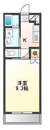 りんどうII[2階]の間取り