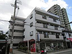 大阪府大阪市東住吉区南田辺5丁目の賃貸マンションの外観