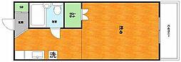大阪府枚方市宇山東町の賃貸アパートの間取り