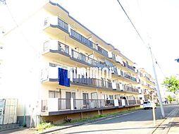 西愛宕住宅A棟[4階]の外観
