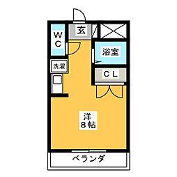 ドエルダイヤフィールド[3階]の間取り