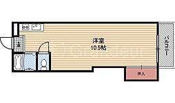 東洋プラザ桜ノ宮[4階]の間取り