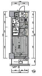 グロース横浜阪東橋[2階]の間取り