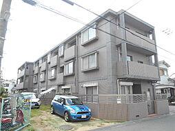 大阪府豊中市熊野町2丁目の賃貸マンションの外観