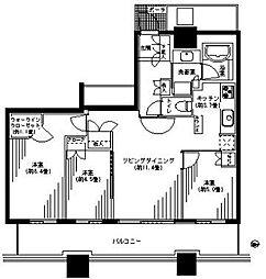 パークタワー横浜ステーションプレミア[29階]の間取り