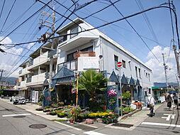兵庫県宝塚市小林3丁目の賃貸マンションの外観