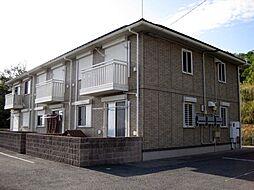 和歌山県岩出市山の賃貸アパートの外観