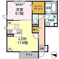 ダイワ92[1階]の間取り